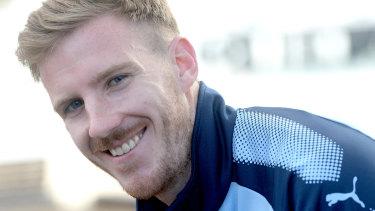 """""""It was a ripper"""": Aaron Calver still revelling in Sydney FC's semi-final win."""