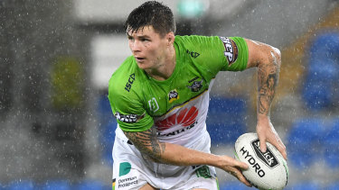 Raiders recruit John Bateman is unburdened by the Storm's dominance over Canberra.