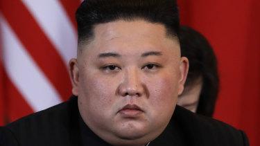 Kim Jong-un meets with Donald Trump on Thursday.