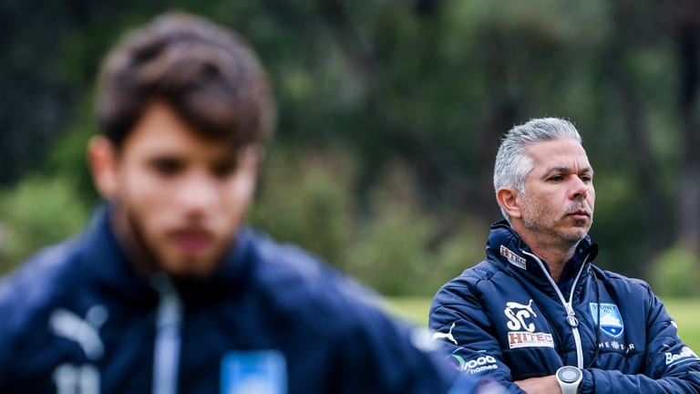 No love lost: Sydney FC coach Steve Corica keeps Wanderers feud alive ahead of his first derby.
