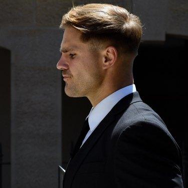 NRL star Jack de Belin was sidelined over charges of sexual assault.