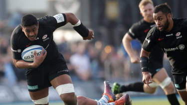 Wallaby-in-waiting?: Will Skelton has transformed playing for Saracens.