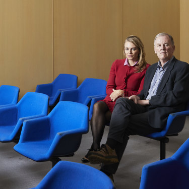 """Magistrate Carolyn Burnside and her husband, Rob Hulls, of RMIT's Centre for Innovative Justice. """"Judicial officers take home the anguish of their decisions,"""" Hulls says."""