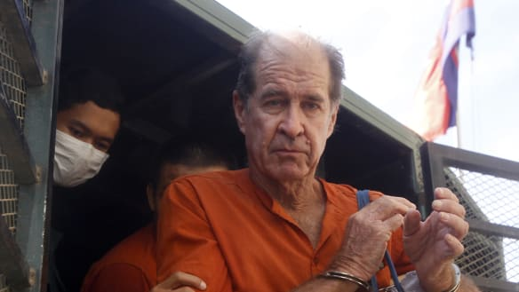 Australian filmmaker James Ricketson granted royal pardon in Cambodia