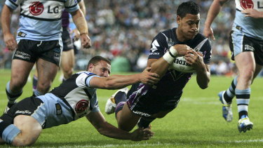 Israel Folau made his name at the Storm before finding a home at the Broncos, Giants, Waratahs, Wallabies, Dragons ...