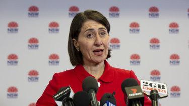 Gladys Berejiklian wants to lure businesses to NSW