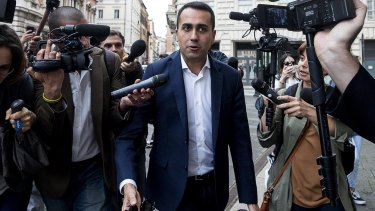 Five Star Movement leader Luigi Di Maio has spooked European partners and investors who fear his euroskeptic, populist agenda.
