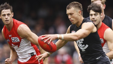 Patrick Cripps has rallied Carlton's young players.