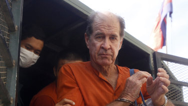 Pardoned: Australian filmmaker James Ricketson.