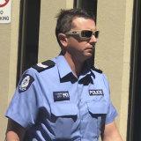 WA Police Senior Constable, Joel Vanson.