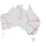APA's gas pipeline network accounts for the majority of the nation's gas transport infrastructure.