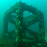 The Bunbury artificial reef, made of concrete modules, was completed in 2013.
