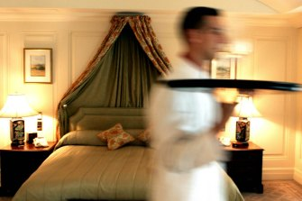 Could the gig economy make room service a thing of the past?