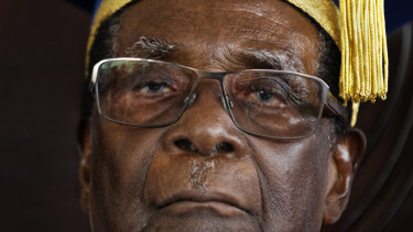Mugabe died in a hospital in Singapore on Friday.