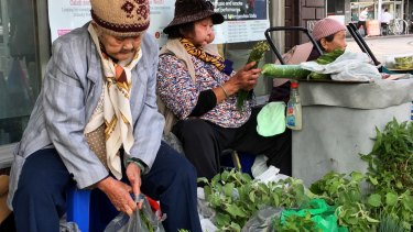 Footscray's footpath traders are under threat.