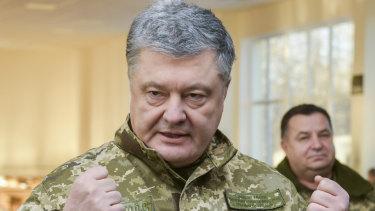 Ukraine's President Petro Poroshenko.