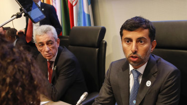 Suhail Mohammed Al Mazrouei, United Arab Emirates' energy minister and OPEC president. The failure to secure a deal yet is the latest example of how OPEC is under pressure from forces that are re-drawing the global oil map.