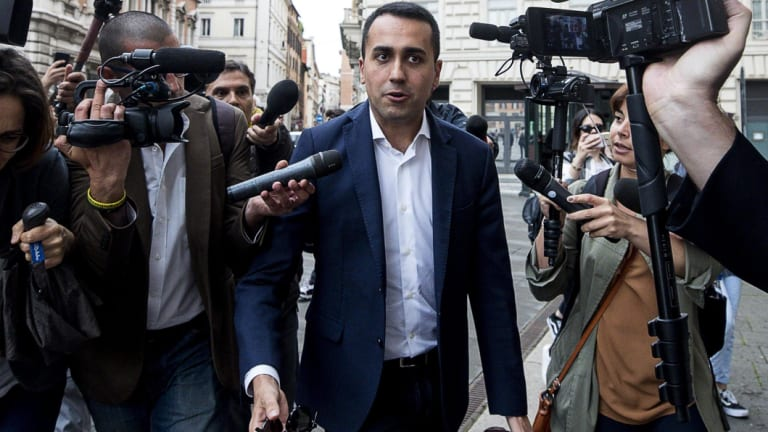 Five Star Movement leader Luigi Di Maio has spooked European partners and investors who fear his euroskeptic, populist agenda.
