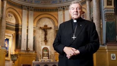 Cardinal Pell in Rome.