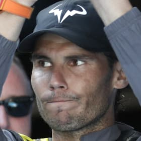 Diplomatic: Rafael Nadal refused to be drawn deep on the debate over equal prize money for male and female players.