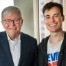 Rudd backs FriendlyJordies as serious 'broadcaster' despite controversial acts