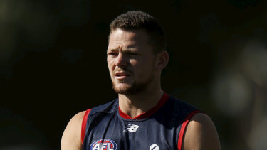 Defender Steven May's difficult start to life with the Demons has continued.