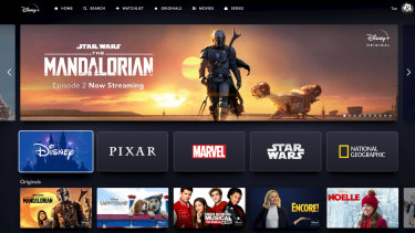 Disney+ has an attractive, organised and animated interface, though some digging is required to reach some titles.
