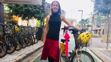 Bicycle Queensland chief executive Anne Savage says it is time for grid of bike lanes through Brisbane's CBD.