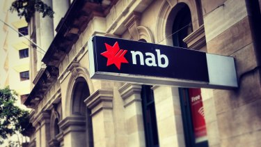 NAB's result was weighed down by restructuring charges and compensation costs.