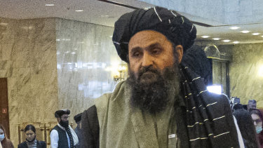 Taliban co-founder Mullah Abdul Ghani Baradar.