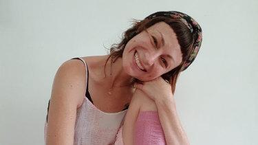 A second chance at life: Tanith Roberts.