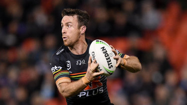 James Maloney in action against the Titans earlier this month.