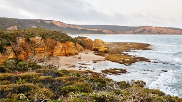 Point Addis, near Anglesea, provided inspiration for Phillip Withers' MIFGS design.