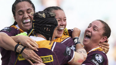It was one-way traffic in the NRLW grand final as the Broncos dominated.