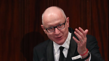 News Corp boss Robert Thomson said the Australian economy had affected the global media giant's results.