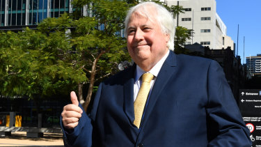 Clive Palmer set up the $7 million fund in April after announcing he was running United Australia Party candidates in every lower house seat at the federal election.