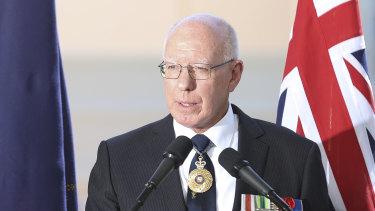 Governor-General David Hurley.