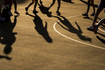Netball was among the most popular sports for children using the state government's Active Kids vouchers.