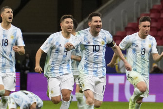 Lionel Messi is hoping to lead Argentina to a Copa America title over favourites Brazil.
