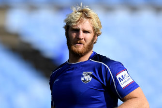 Canterbury are pushing hard for Aiden Tolman to play this Sunday.