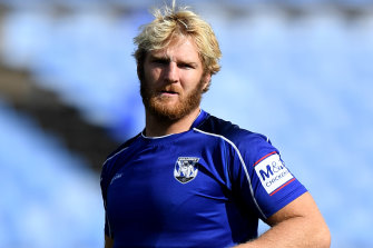 Aiden Tolman could miss three matches for the Bulldogs starting with today's postponed clash against the Roosters.
