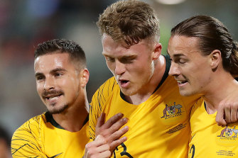 The Socceroos are four wins from four games so far in the qualifiers.