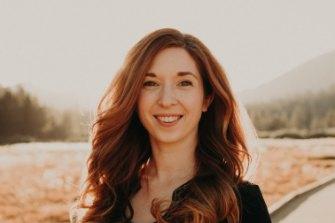 Gemma Hartley, the author.