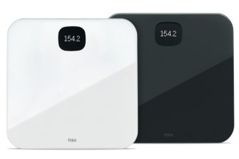 The connected Fitbit Aria Air will send your weight to your Fitbit account.