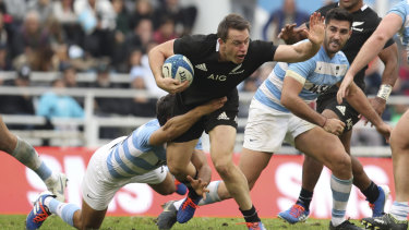 The All Blacks had their hands full in Buenos Aires.