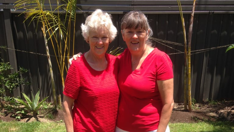 Margaret Fletcher, left, was diagnosed with Coeliac's disease 30 years ago. Her sister Diane, right, is also a Coeliac.