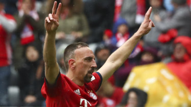 Open mind: Departing Bayern Munich great Franck Ribery says money will not dictate his next move.