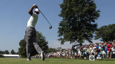 Hot ticket: Tiger's huge army of fans would love to see him contend on Sunday.