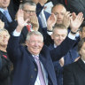 Ferguson returns to Manchester United after brain surgery