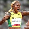 Jamaica still dominate the track going 1-2-3 in women's 100m